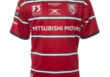 Maillot Domicile Gloucester Rugby 2018/19 XBlades