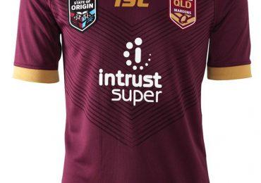 Maillot État d'origine Queensland Maroons ISC Sport 2020
