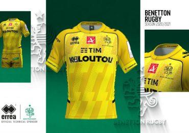 Les maillots 2020 de Benetton sont partout