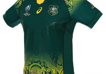 Australie Wallabies RWC2019 T-shirts autochtones
