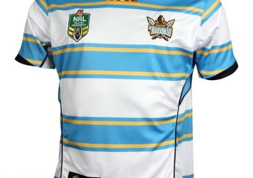 Gold Coast Titans NRL 2021 BLK Maillots Alternatifs