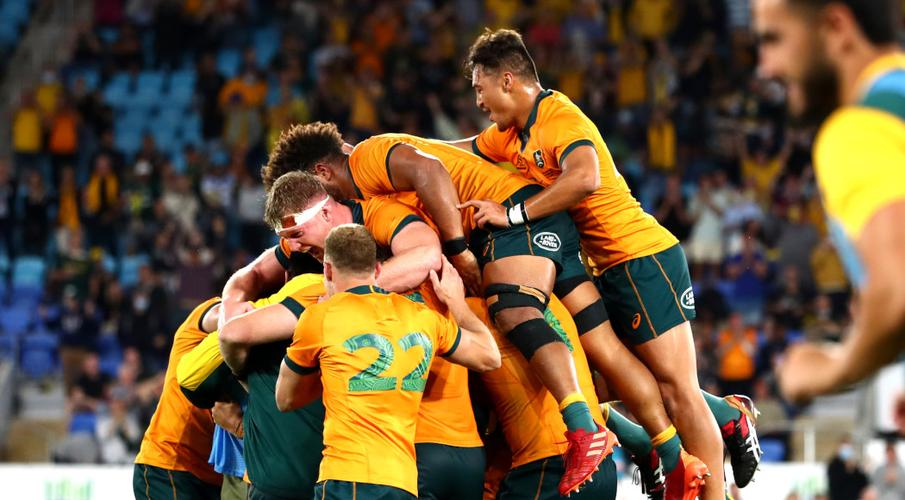 rugby 6 nations, Australie 2021